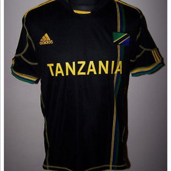 81e7449e2 adidas Other - ADIDAS ClimaCool TANZANIA Soccer Jersey Sz XL EUC